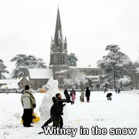 Photos of Witney in the snow
