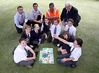 Green game idea scoops award for Witney school