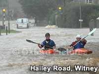 Witney affected by flooding