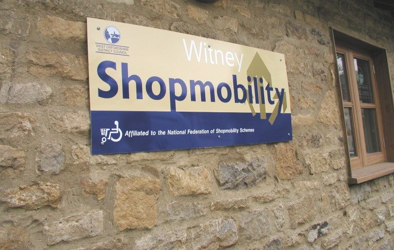 2000th Shopmobility booking