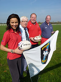 Touch-down for Touch Rugby in West Oxfordshire