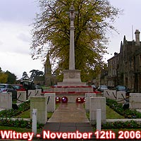 Remembrance Sunday in Witney