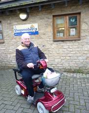 Witney Shopmobility service a gift for Christmas shoppers