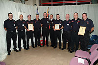 Witney firefighters shine at award ceremony