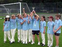 West Oxfordshire's young cricket champions