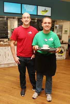 Five star service from charity café