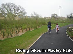 A view of Madley Park