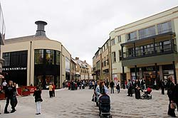 Shopping at Marriotts Walk, Witney