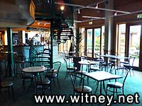 The bistro at Witney Lakes Resort