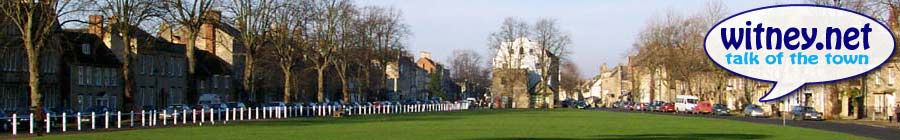 Witney - A view from Church Green